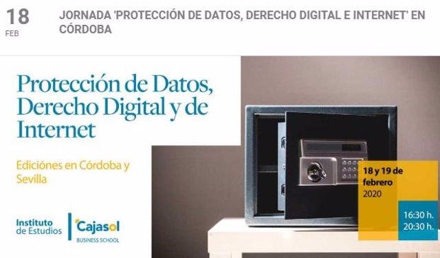 Imagen promocional de la actividad formativa en la Fundación Cajasol.
