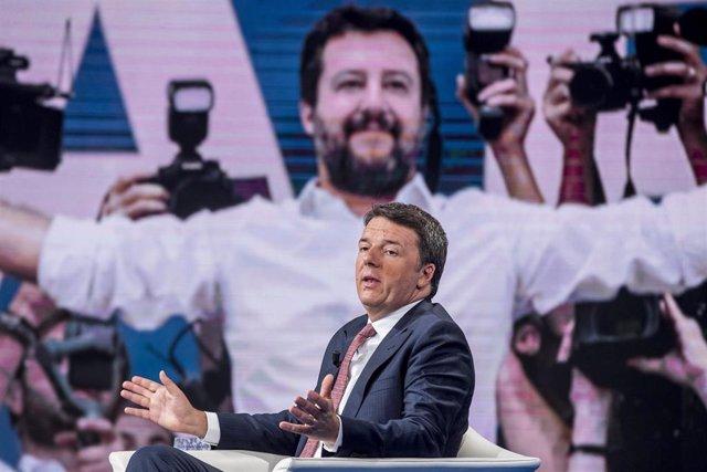 El exprimer ministro y líder de Italia Viva Matteo Renzi