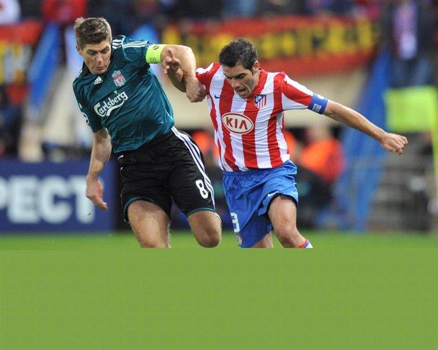 Atlético Liverpool Gerrard Antonio López