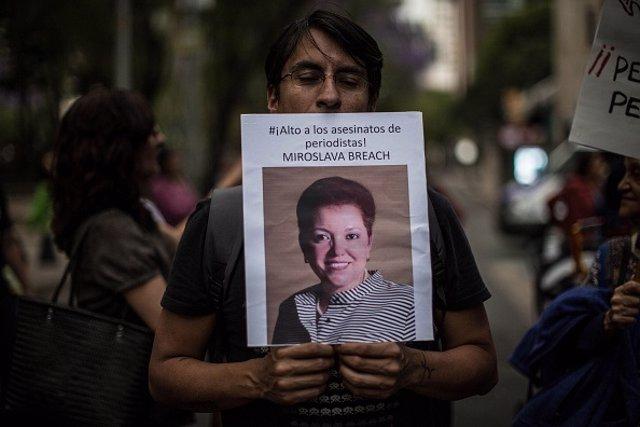 Arranca el juicio contra uno de los presuntos autores del asesinato de la periodista Miroslava Breach.