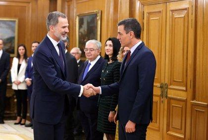 Casa Real.- El Rey preside hoy un Consejo de Ministros en el que Gobierno de Sánchez le informará de sus prioridades