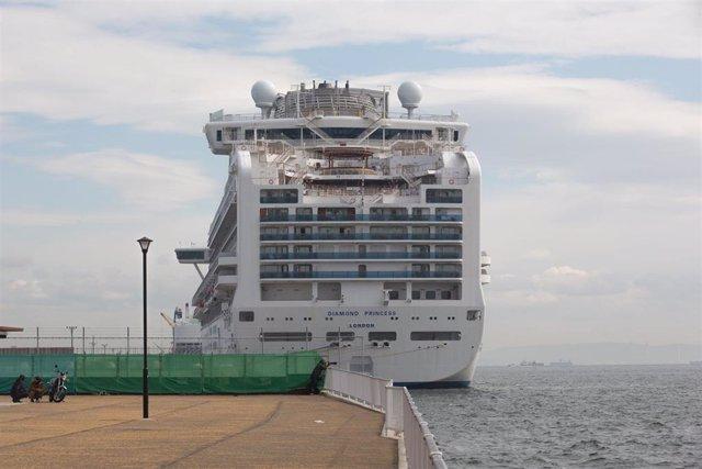 El crucero 'Diamond Princess'.