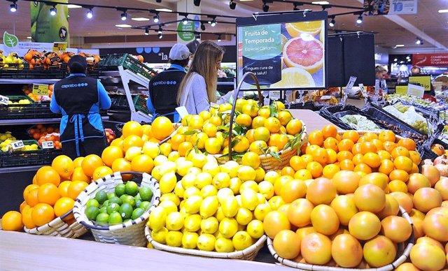 Agro.- Caprabo prevé duplicar la venta de cítricos con sello de calidad en 2020