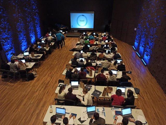 Participantes de la IV edición de HP CodeWars celebrada en Madrid