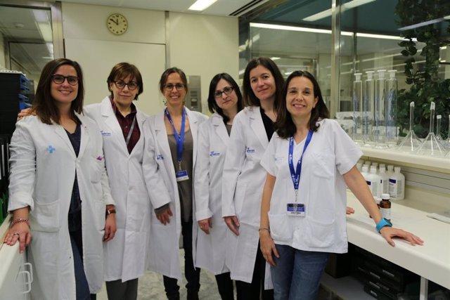 Farmacéuticas especialistas del Servicio de Farmacia del Hospital Vall d'Hebrón de Barcelona