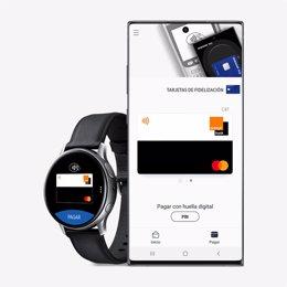 Orange Bank se incorpora a Samsung Pay