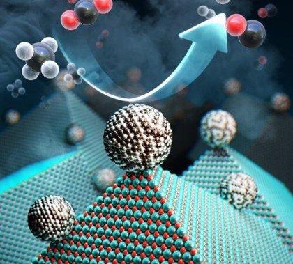 Reciclar en masa gases invernadero en combustible y gas hidrógeno