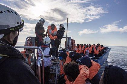 Europa.- El 'Ocean Viking' rescata a 84 migrantes en el Mediterráneo