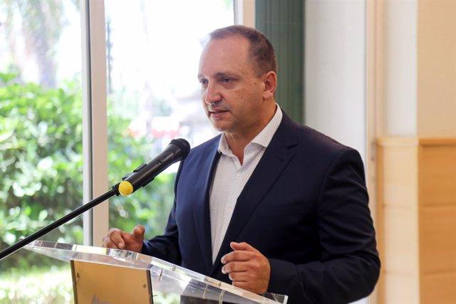 El vicepresident segon de la Generalitat Valenciana, Rubén Martínez Dalmau