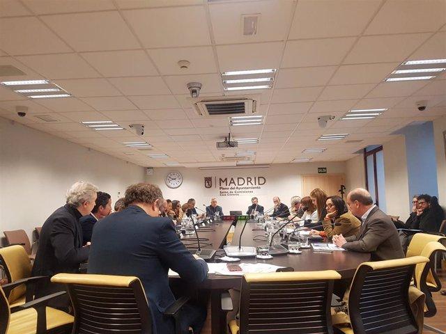 Comisión de Cultura, Turismo y Deporte del Ayuntamiento de Madrid.