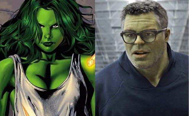 She-Hulk en los cómics y Hulk en Endgame