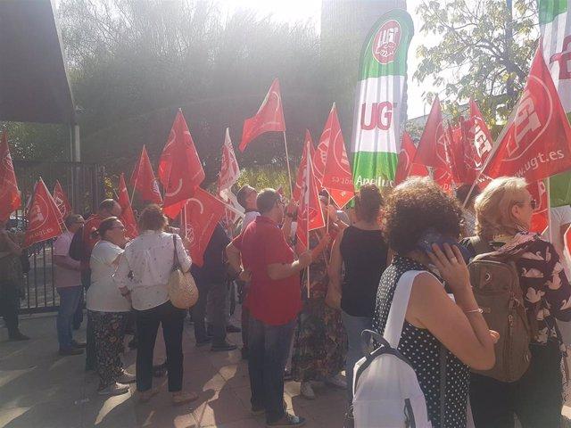 UGT-A anuncia protestas contre el decreto de escolarización