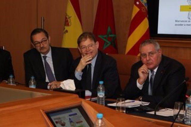 Puig participa en una reunión con empresarios valencianos y marroquíes en Casablanca