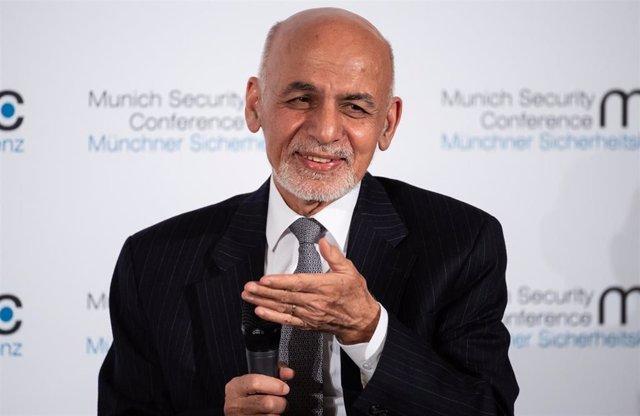 Ashraf Ghani, presidente de Afganistán