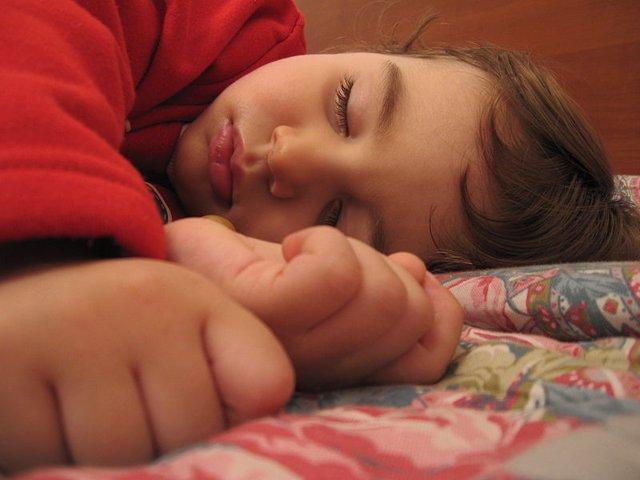 Niño durmiendo.