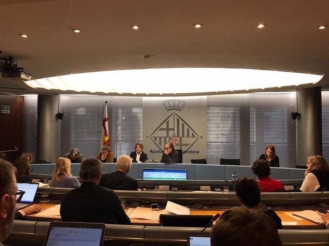 La comisión de Derechos Sociales, Cultura y Deportes de Barcelona
