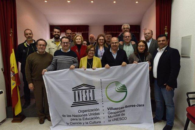 El Geoparque Villuecas-Ibores-Jara revalida su título Unesco por cuatro años más