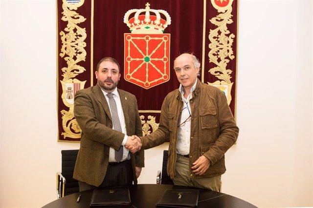 Unai Hualde y Manuel Martín