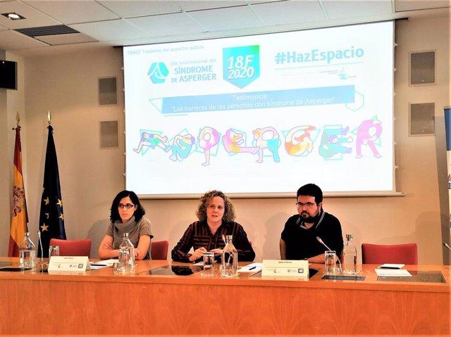Silvia Pallarés e Ignacio Pantoja, dos personas con síndrome de Asperger o trastorno del espectro del autismo sin discapacidad intelectual asociada comparten su testimonio