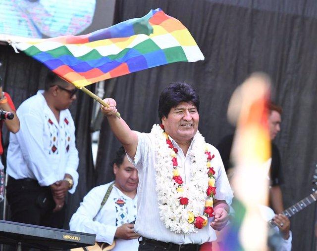 El ex presidente boliviano Evo Morales