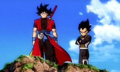 Goku y Vegeta cambian de diseño en Super Dragon Ball Heroes