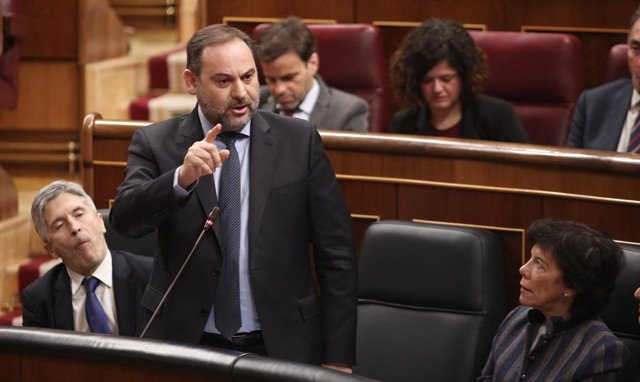 El ministro de Transporte, Movilidad y Agenda Urbana y secretario de Organización del PSOE, José Luis Ábalos.