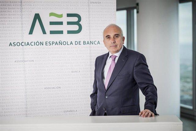 José Luís Martínez Campuzano, portavoz de la Asociación Española de Banca (AEB)