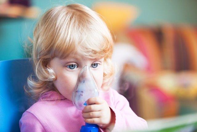 Asma infantil, mascarilla