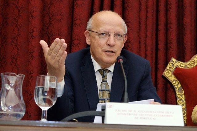 El ministro de Asuntos Exteriores de Portugal, Augusto Santos Silva.