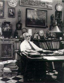 El historiador e intelectual granadino Manuel Gómez-Moreno Martínez (1870-1970)