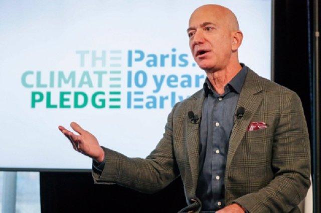 Jeff Bezos, fundador i conseller delegat d'Amazon.