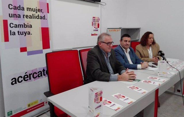 Presentación del programa Acércate de Cruz Roja