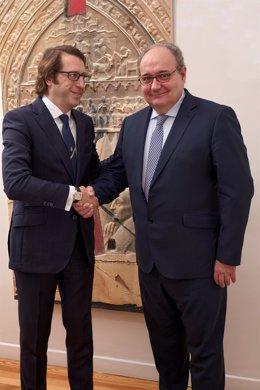 Ignacio Moratilla y Francisco J. Bauzá