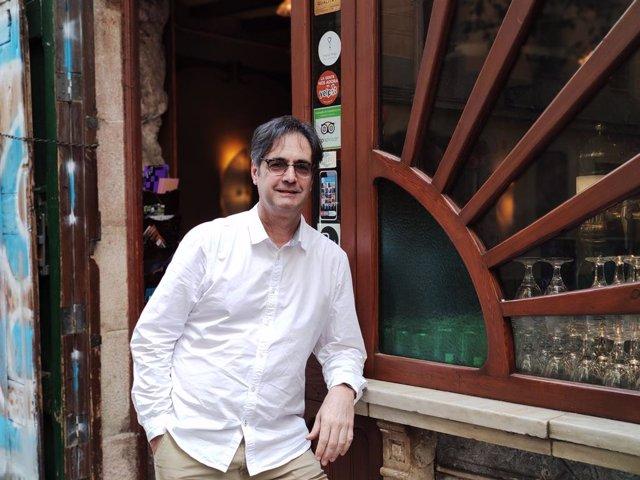 L'escriptor català Vicenç Pagès Jordà.
