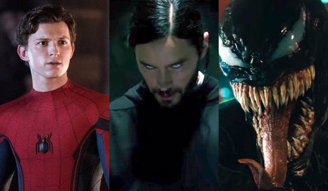 Spider-Man, Morbius y Venom