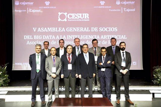 Jornada de Cesur sobre inteligencia artificial aplicada a la empresa.