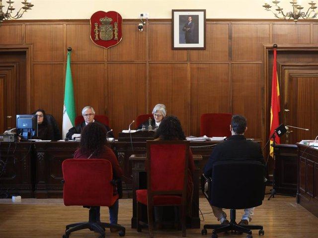 Juicio del crimen de las cuñadas en la Audiencia Provincial de Sevilla.