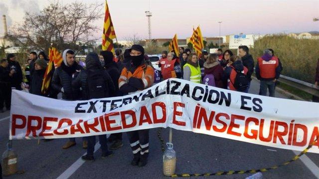 Vaga del sector petroquímic de Tarragona