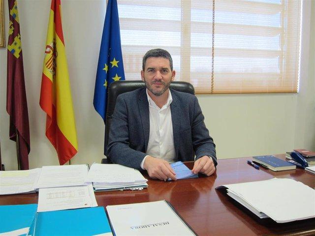 El consejero de Agua, Agricultura, Ganadería, Pesca y Medio Ambiente, Antonio Luengo
