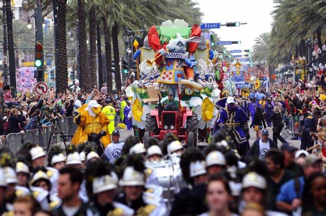Carnaval de Nueva Orleans, Estados Unidos