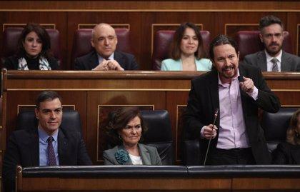 """Iglesias critica a PP y Vox de """"descojonarse"""" en la Cámara cuando se habla de las """"niñas prostituidas"""" en Baleares"""