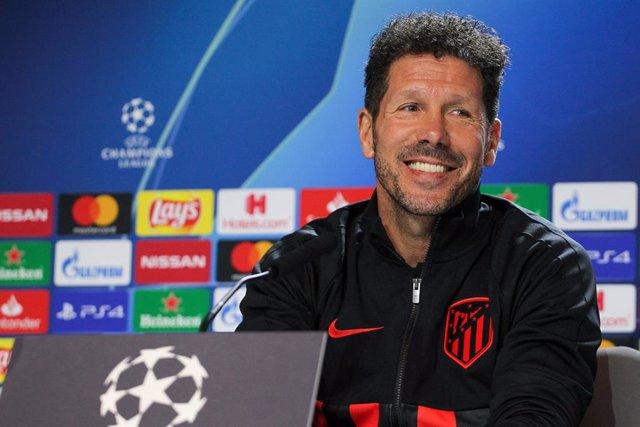 Diego Pablo Simeone, entrenador de l'Atlètic de Madrid