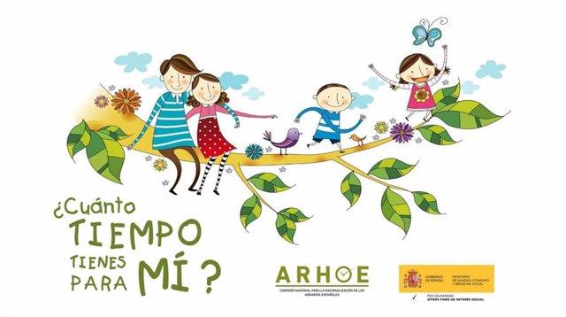 Imagen del concurso '¿Cuánto tiempo tienes para mi?' de ARHOE.