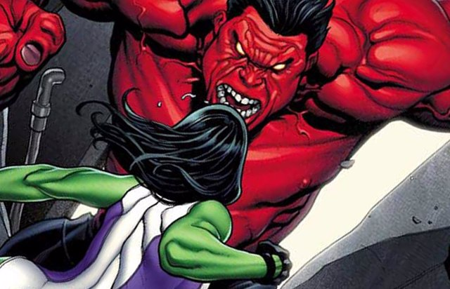 Red Hulk en los cómics de Marvel