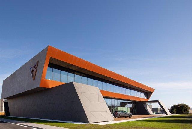 Imagen de la nueva sede de Cupra.