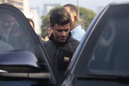 "Guaidó asegura que Leopoldo López ""sigue firme"" seis años después de ser detenido"