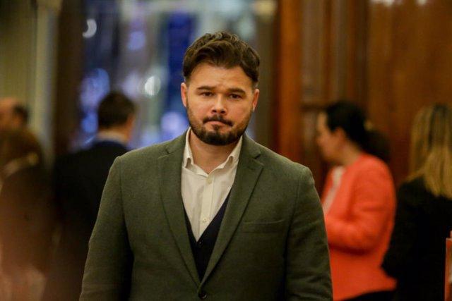 El portaveu d'ERC al Congrés,  Gabriel Rufián (arxiu)