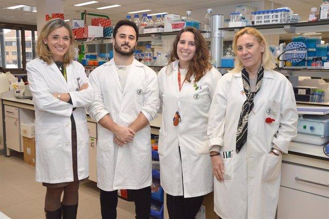 Científicos de la UCV que han participado en la investigación