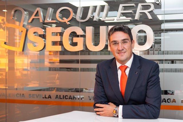 El consejero delegado de Alquiler Seguro, Antonio Carroza