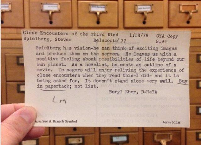 Antes de que existiera Google, estas son las consultas que la gente hacía a la Biblioteca Pública de Nueva York